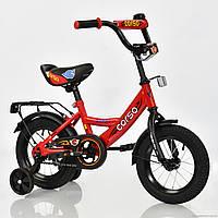Велосипед 12 дюймов 2-х колесный С12030 CORSO красный