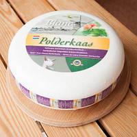Cыр козий Шевре с травами 4,5 кг  50% Polderkaas, фото 1