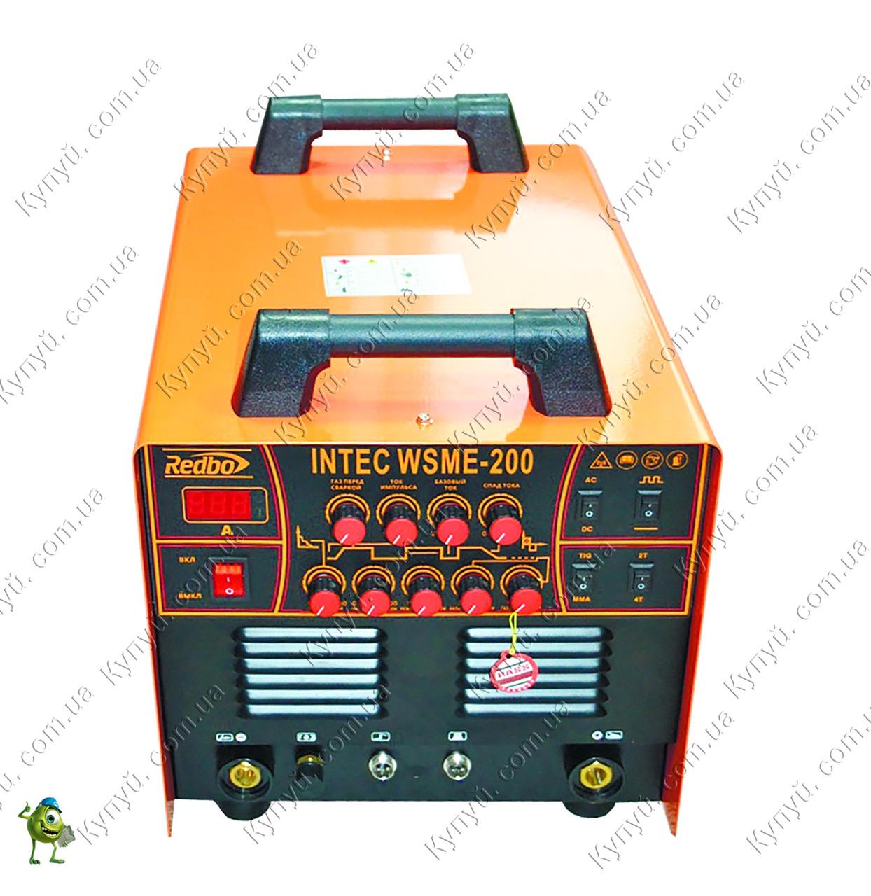 Аргонно-дуговой сварочный аппарат Redbo Intec WSME-200 AC/DC Pulse TIG/MMA