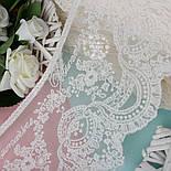 Кружево  Блюмарин с восточным узором кремового цвета с хлопковой нитью, 14 см., фото 3