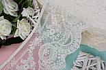 Кружево  Блюмарин с восточным узором кремового цвета с хлопковой нитью, 14 см., фото 2