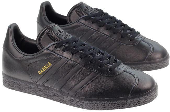 brand new 1fc5d 5de4a Кроссовки Adidas Gazelle Leather Black - Интернет магазин обуви «im-РоLLi»  в Киеве