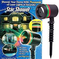 Лазерный звездный проектор Star Shower Laser Light 2