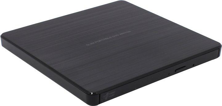 Картридер HL Data Storage GP60NB60 Black Slim USB