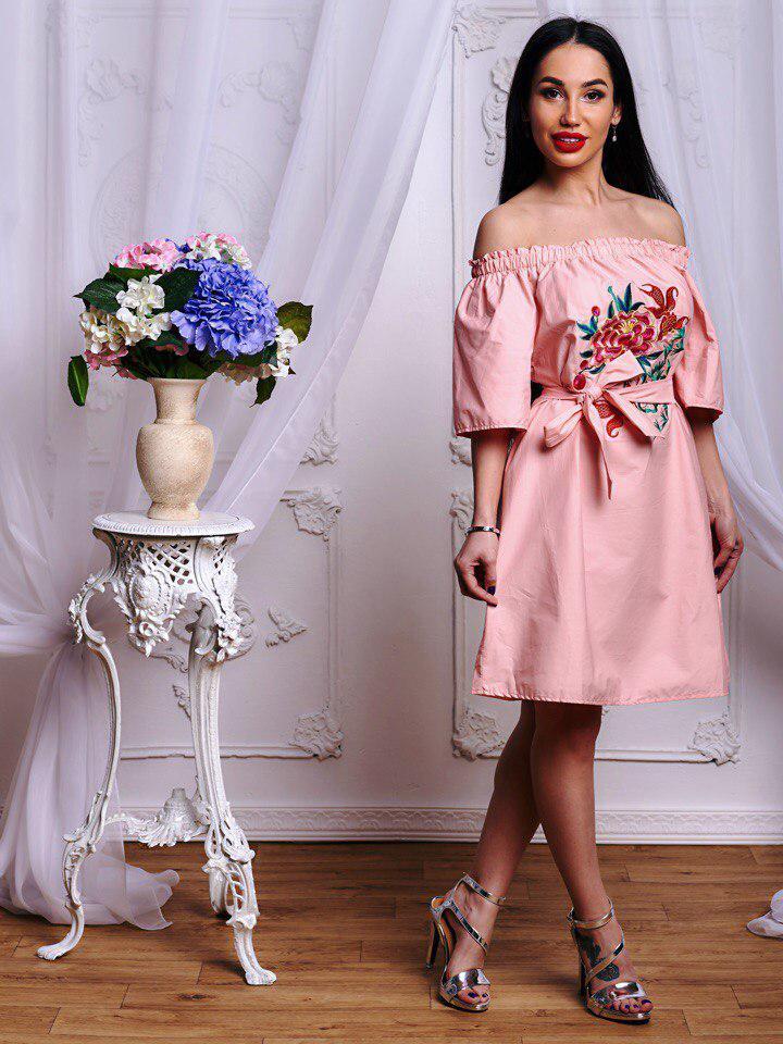 Платье. Фабричный Китай.  (654)