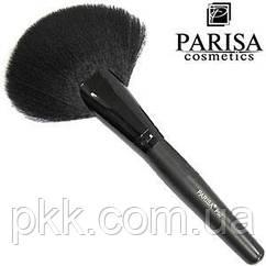 Кисть для макияжа Parisa Cosmetics натуральная веерная Р-00