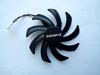 Вентилятор №126 кулер для видеокарты Gigabyte RX 470 480 560 570 580 PLA09215S12H T129215SU PLD09210S12HH