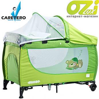 Детская кровать манеж Grande 2016 Caretero