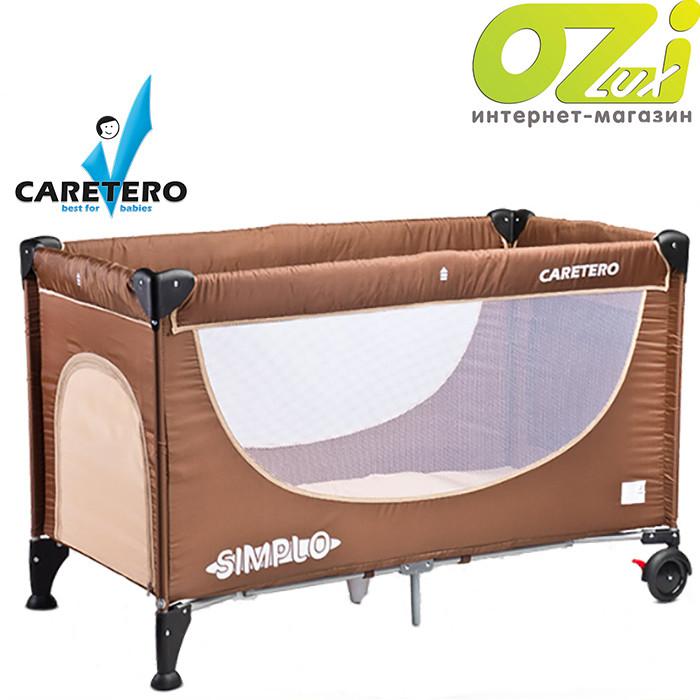 Детская кровать манеж Simplo Caretero