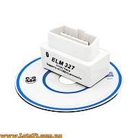 Автосканер Mini ELM327 OBD2 Bluetooth V2.1 + диск с ПО