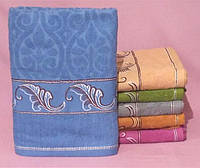 Банное полотенце из махры оптом на подарок