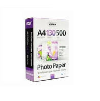 Фотобумага videx глянцевая 130 гр. А4*500 glossy