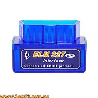 Автомобильный сканер Mini ELM327 V2.1 Bluetooth OBD2 адаптер + программы для Андроид