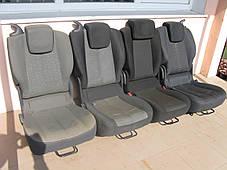 Сиденья автомобильные трансформеры (раскомплектованые) Renault Scenic III , фото 2