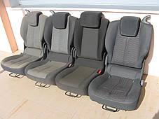 Сиденья автомобильные трансформеры (раскомплектованые) Renault Scenic III , фото 3