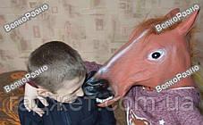 Маска голова лошади (коня). Карнавальная маска., фото 2