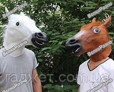 Маска голова лошади (коня). Карнавальная маска., фото 3