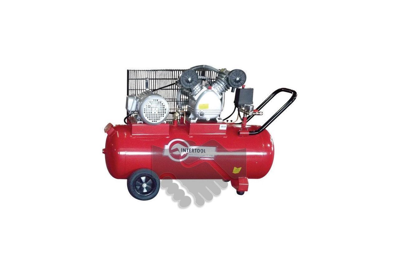 Компрессор Intertool - 100 л, 3 кВт