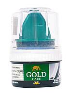 Крем-краска для обуви для гладкой кожи Gold Care 50 мл (цвет черный)