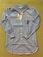 Летняя рубашка на девочку, фото 1
