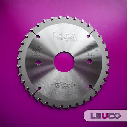 200x4,85-5,65x3,5x45, Z=36Подрезная дисковая пила Leuco - nn-System для пильных центров, фото 2