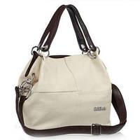 Стильная женская сумка WeidiPolo бежевый