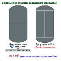 Бойлер Willer электрический накопительный EV100DR optima, фото 9