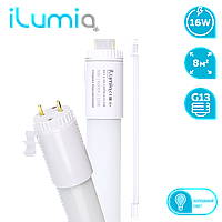 Светодиодная лампа-трубка Ilumia 16Вт, цоколь G13, 26*1200мм, 6000К (холодный белый), 1600Лм (021)