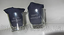 Сувенирный стеклянный стакан с нанисением надписи