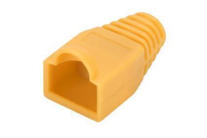 Ковпачок DIGITUS для RJ45 жовтий 100 шт., фото 2