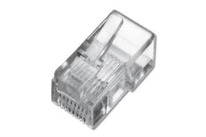 Конектор DIGITUS RJ11 6P4C, 100шт., фото 2