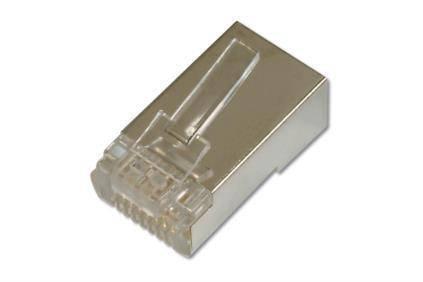 Конектор DIGITUS RJ45 Cat.6 FTP, 100шт., фото 2
