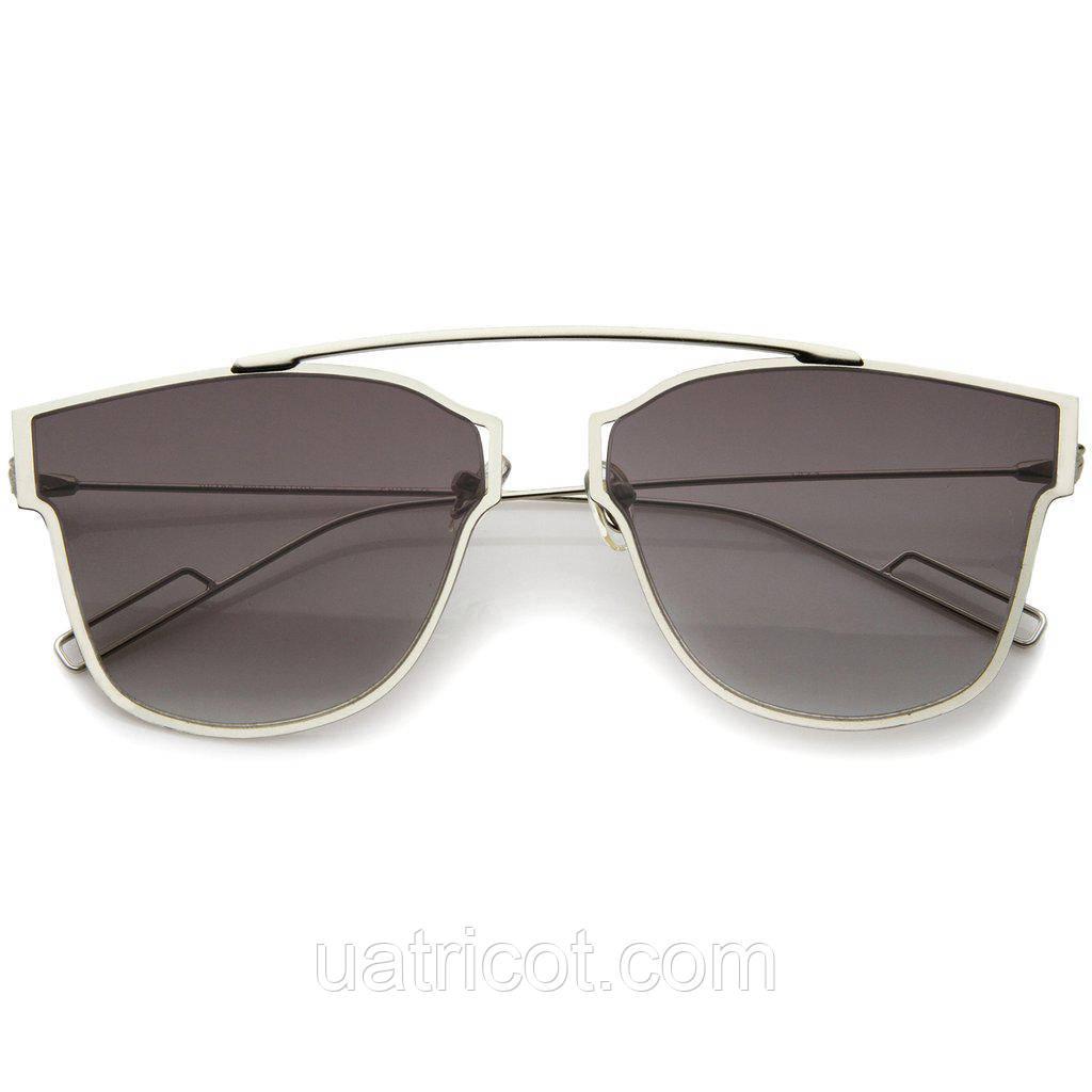 Женские солнцезащитные очки ультратонкие Aviator с лавандавой линзой
