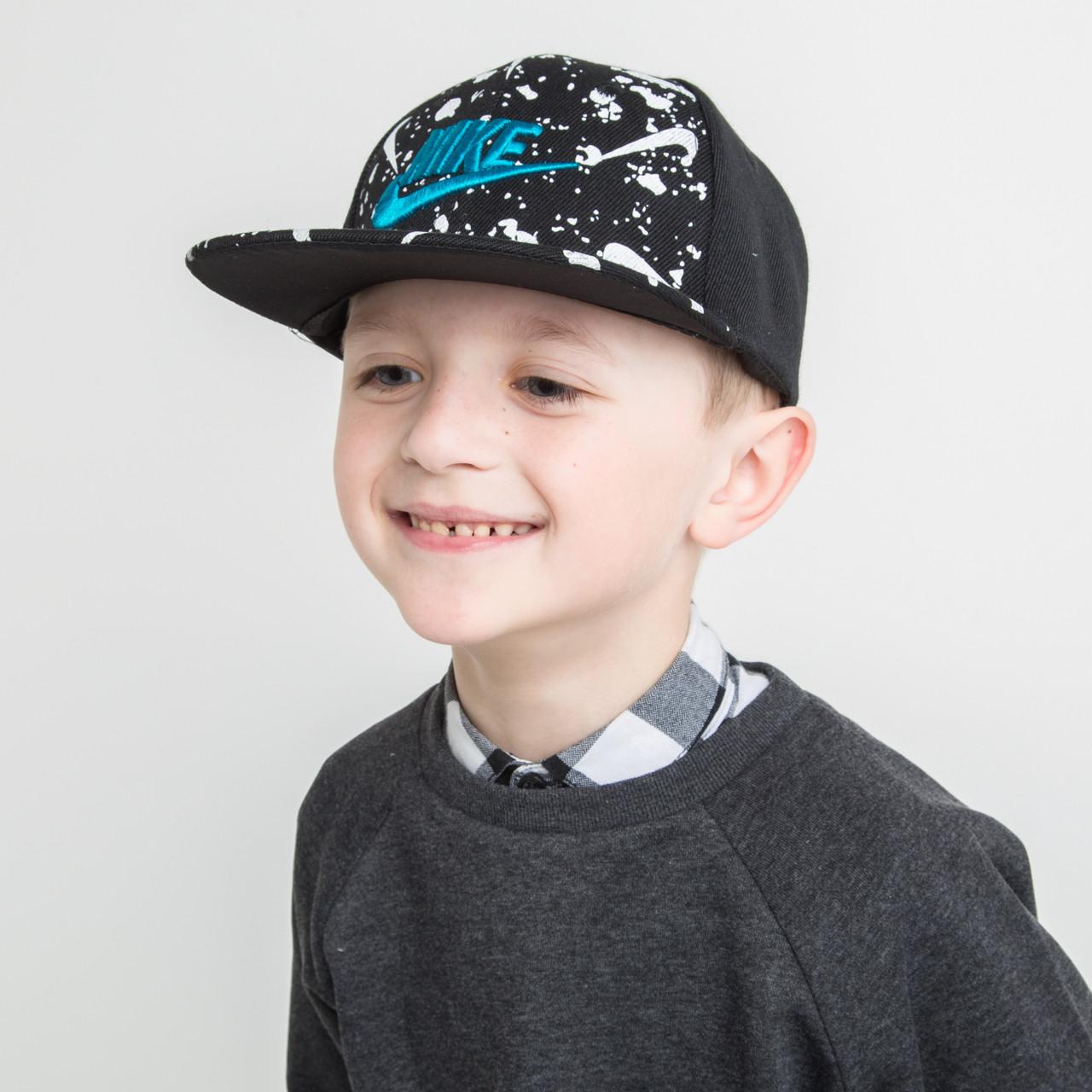 Брендовая кепка Snapback для мальчика оптом - Nike (реплика) - 82018-13