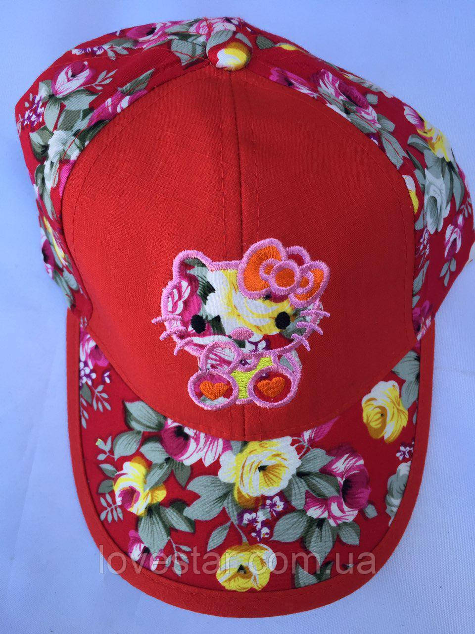 Детская кепка девочка 48-50