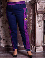 Джинсовые брюки для крупных женщин, с 48 по 82 размер, фото 1