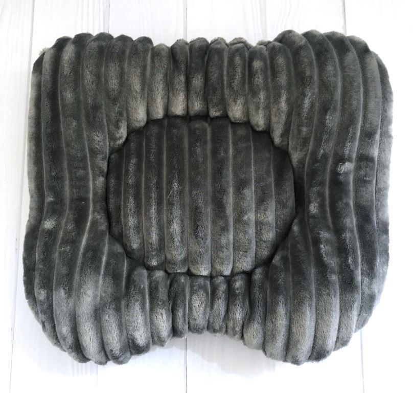Подушка на кушетку - графіт (шарпей)