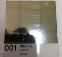 Металлизированная пленка Oracal 352 хром 001 Chrome ( ширина рулона 1 метр, цена за 1 м2)