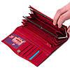 Женский кошелек кожаный красный Eminsa 2023-12-5, фото 4
