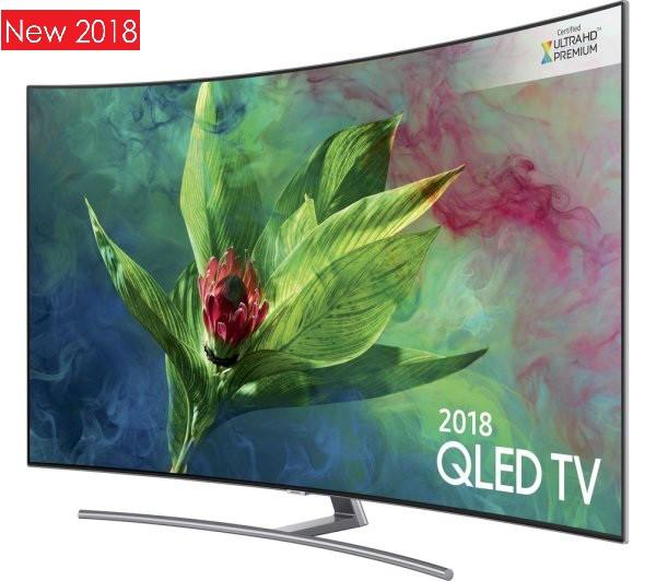 Телевизор Samsung QLED QE65Q8CNA (PQI 3300, 4K UHD, Smart, Q HDR 1500,  Ultra Black, DVB-C/T2/S2, Tizen 4 0)