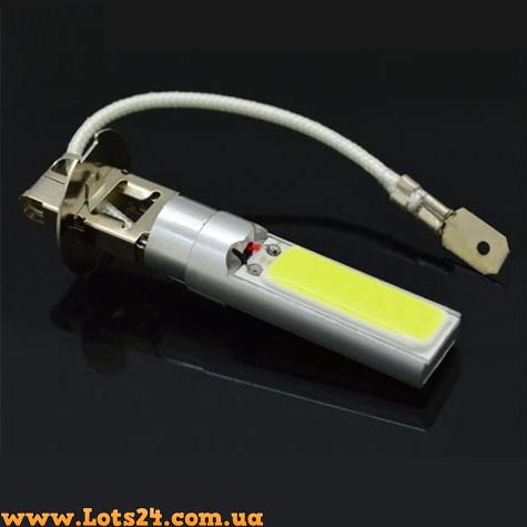 авто лампы H3 2 Cob Led 6000k светодиодные лампочки для авто лучше