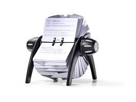 Визитница - картотека Durable вращающаяся 500 карточек черная 2416-01