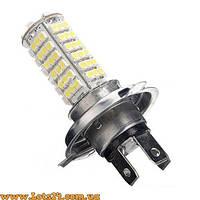 Авто-лампы H4 102 LED 6000K (светодиодные лед лампочки, лучше за галогеновые, ксенон, DRL и ДХО)