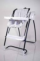 Детский стульчик-качеля трансформер для кормления Dolchemio TS-100 Black