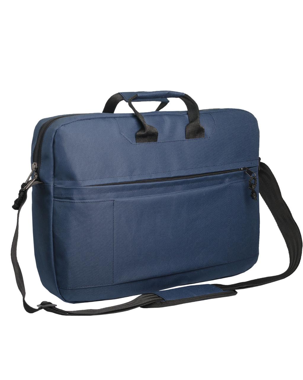 Сумка для ноутбука Surikat темно-синяя (мужская сумка, женская сумка,