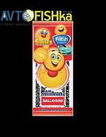 Ароматизатор листочок СМАЙЛ,  Freshway аромат: Воздушные шары