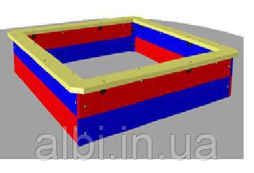 Песочница деревянная большая 1400×1400