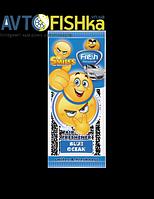 Ароматизатор листочок СМАЙЛ,  Freshway аромат: синий океан