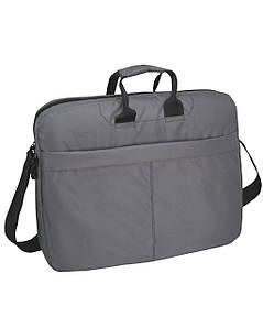 Сумка для ноутбука Surikat серая (мужская сумка, женская сумка, под ноутбук, сумки)