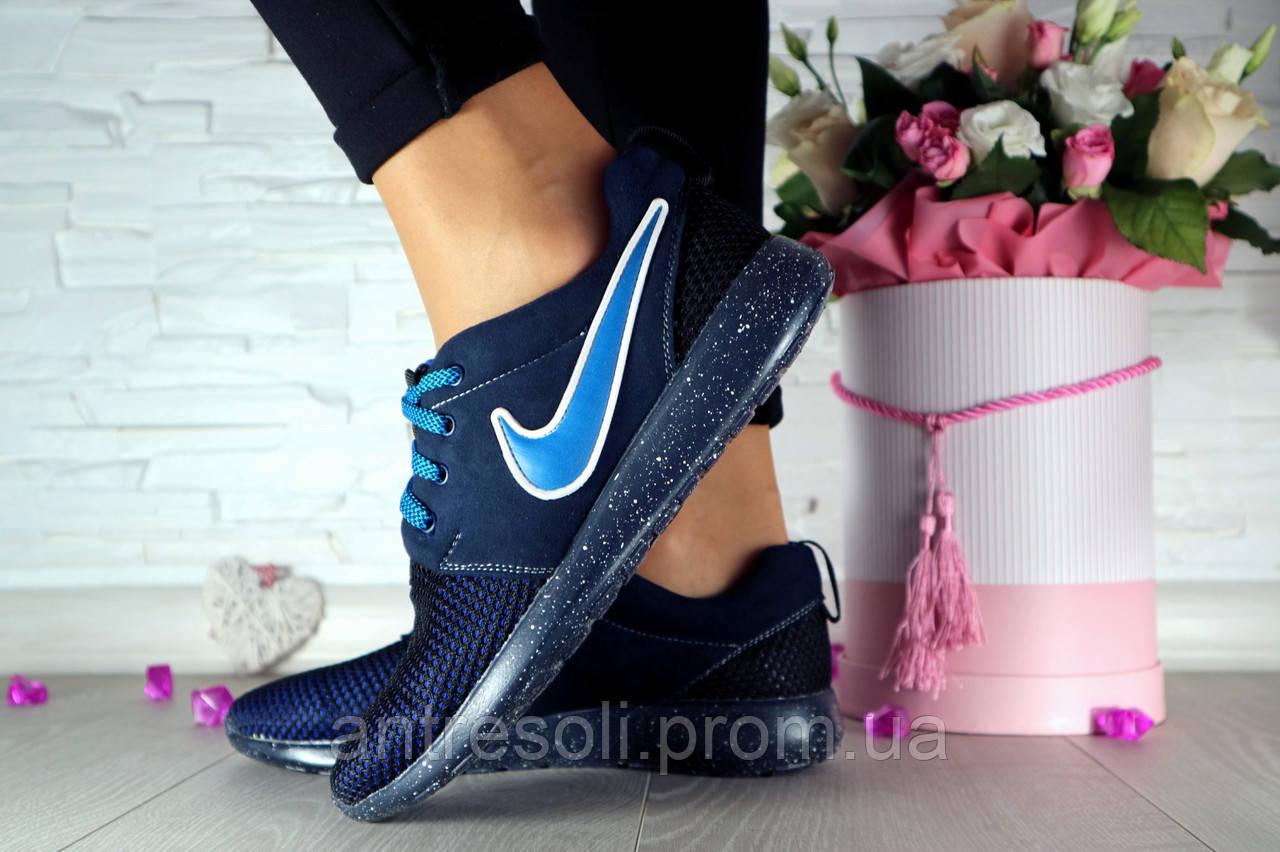 Женские кроссовки Nike Синий сетка 10751